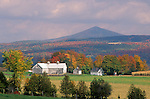 Fall view near Barre, Vermont, USA