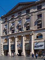 Museum Zepter, Fußgängerzone Knez Mihailova -Prinz-Michael-Straße, Belgrad, Serbien, Europa<br /> museum Zepter, pedestrian area Knez Mihailova, Belgrade, Serbia, Europe