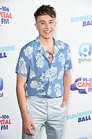 Roman Kemp<br /> poses on the media line before performing at the Summertime Ball 2019 at Wembley Arena, London<br /> <br /> ©Ash Knotek  D3506  08/06/2019
