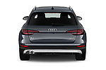 Straight rear view of a 2018 Audi A4 allroad quattro base 5 Door Wagon stock images