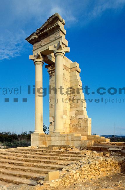 Roman Temple of Apollo, Kourion, Episkopi near Limassol, Cyprus, Zypern