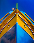 Malta, Marsaxlokk: maltesisches Fischerboot - dhgajsas | Malta, Marsaxlokk: maltese fishing boat - dhgajsas