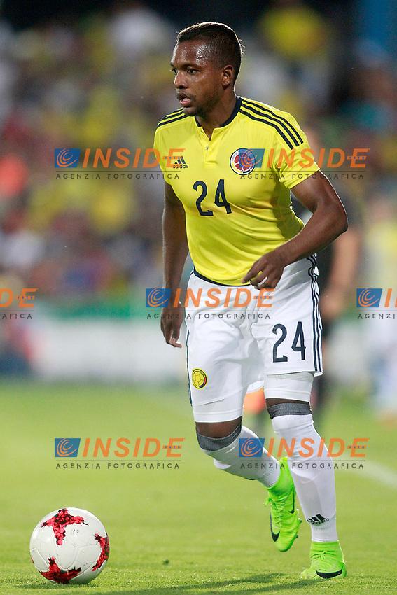 Colombia's Jose Heriberto Izquierdo during international friendly match. June 13,2017.(ALTERPHOTOS/Acero/Insidefoto)<br /> Camerun - Colombia <br /> Foto Acero/Alterphotos/Insidefoto <br /> ITALY ONLY