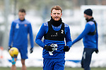 St Johnstone Training...   21.01.21<br />James Brown pictured during training at McDiarmid Park ahead of Saturday's BetFred Cup semi-final against Hibs at Hampden.<br />Picture by Graeme Hart.<br />Copyright Perthshire Picture Agency<br />Tel: 01738 623350  Mobile: 07990 594431