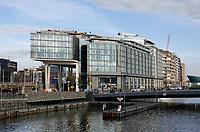 Nederland  Amsterdam  2020.   Oosterdok. Hilton DoubleTree Hotel.    Foto : ANP/ HH / Berlinda van Dam
