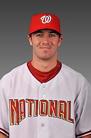 14 March 2008: ..Portrait of James Lehman, Washington Nationals Minor League player at Spring Training Camp 2008..Mandatory Photo Credit: Ed Wolfstein Photo