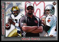 Khari Jones-JOGO Alumni cards-photo: Scott Grant