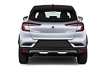 Straight rear view of a 2020 Renault Captur Initiale Paris 5 Door SUV stock images