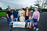 Kingdom Veteran Vintage Club present the sum of €6,237 to the Help Rose Fundraiser from the recent Ballymac run, kneeling l to r: Tony Hehir (Chairman of the KVVC), Kate and Rose O'Flaherty Back l to r: Thomas O'Flaherty, George Glover, Paul Horan, Joan Glover and Karen O'Flaherty
