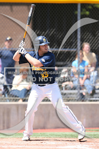 May 15, 2009:  First Baseman Brian Burton of Canisius College at bat during a game at Demske Sports Complex in Buffalo, NY.  Photo by:  Mike Janes/Four Seam Images