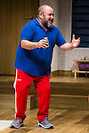"""Jorge Calvo during theater play of """"Invencible"""" at Teatros del Canal in Madrid. October 27, Spain. 2016. (ALTERPHOTOS/BorjaB.Hojas)"""