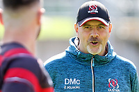 Friday 4th September 2020 | Ulster Captain's Run<br /> <br /> Dan McFarland chats with John Cooney during Captain's Run ahead of the Guinness PRO14 Semi-Final between Edinburgh and Ulster at the BT Murrayfield Stadium Edinburgh, Scotland. Photo by John Dickson / Dicksondigital