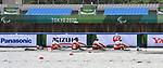 Bayleigh Hooper, Andrew Todd, Victoria Nolan, Kyle Fredrickson, Laura Court, Tokyo 2020 - Para Rowing // Para-aviron.<br /> Canada competes in PR3 coxed-Mixed four // Le Canada participe au PR3 avec barreur-mixte à quatre. 08/29/2021.