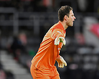 Asmir Begovic of AFC Bournemouth during AFC Bournemouth vs Huddersfield Town, Sky Bet EFL Championship Football at the Vitality Stadium on 12th December 2020