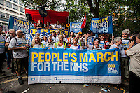 """06.09.2014 - """"People's March For The NHS"""" - #March4NHS"""