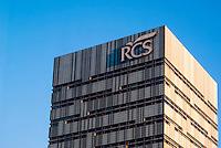 Milano, la sede di via Rizzoli del gruppo editoriale e casa editrice RCS --- Milan, RCS multimedia publishing group headquarter in Rizzoli street