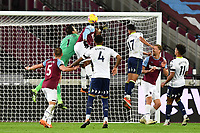 Lukasz Fabianski of West Ham United punches across clear during West Ham United vs Aston Villa, Premier League Football at The London Stadium on 30th November 2020