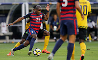 Santa Clara, CA - Wednesday July 26, 2017: Darlington Nagbe during the 2017 Gold Cup Final Championship match between the men's national teams of the United States (USA) and Jamaica (JAM) at Levi's Stadium.