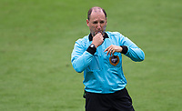LOS ANGELES, CA - OCTOBER 25: Referee Kevin Stott during a game between Los Angeles Galaxy and Los Angeles FC at Banc of California Stadium on October 25, 2020 in Los Angeles, California.