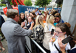 Michael Flatley chats with fans at the official opening of the All-Ireland Fleadh 2017 in Ennis. Photograph by John Kelly.