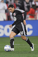 DC United midfielder Christian Gomez (10) Chicago Fire tied DC United  1-1 at  RFK Stadium, Saturday March 28, 2009.