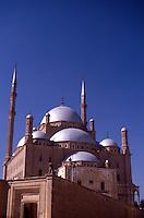 Egypt. Cairo. Mohammed Ali Mosque.