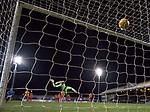 Tomas Cerny beaten by James Tavernier's shot for goal no 2