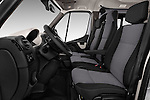 Front seat view of 2016 Nissan NV400-Combi l1h1-Optima 5 Door Passenger Van Front Seat  car photos