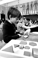 Education en francais au Quebec en 1975<br /> <br /> PHOTO : Alain Renaud - Agence quebec Presse