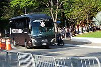 Sao Paulo (SP), 15/02/2020 - Sao Paulo-Corinthians - Chegada do onibus do Corinthians. Partida entre Sao Paulo e Corinthians valida pelo Campeonato Paulista, no estadio do Morumbi neste sabado (15). (Foto: Maycon Soldan/Codigo 19/Codigo 19)