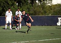MIAMI, FL - DECEMBER 21, 2012:  Luis Miguel Gil of the USA MNT U20 scores from the penalty spot during a closed scrimmage with the Venezuela U20 team, on Friday, December 21, 2012, At the FIU soccer field in Miami.  USA won 4-0.
