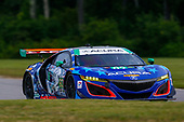 IMSA WeatherTech SportsCar Championship<br /> Northeast Grand Prix<br /> Lime Rock Park, Lakeville, CT USA<br /> Saturday 22 July 2017<br /> 93, Acura, Acura NSX, GTD, Andy Lally, Katherine Legge<br /> World Copyright: Jake Galstad<br /> LAT Images