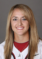STANFORD, CA - OCTOBER 29:  Jenna Becerra of the Stanford Cardinal softball team poses for a headshot on October 29, 2009 in Stanford, California.