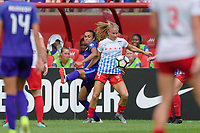 Bridgeview, IL - Saturday July 22, 2017: Marta Vieira Da Silva, Alyssa Mautz during a regular season National Women's Soccer League (NWSL) match between the Chicago Red Stars and the Orlando Pride at Toyota Park. The Red Stars won 2-1.