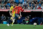 Spain national team player Alvaro Morata during UEFA EURO 2020 Qualifier match between Spain and Sweden at Santiago Bernabeu Stadium in Madrid, Spain. June 10, 2019. (ALTERPHOTOS/A. Perez Meca)