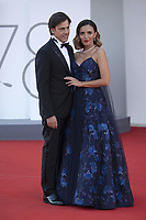 Davide Devenuto and Serena Rossi attending the Closing Ceremony Red Carpet as part of the 78th Venice International Film Festival in Venice, Italy on September 11, 2021. <br /> CAP/MPI/IS/PAC<br /> ©PAP/IS/MPI/Capital Pictures