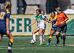 1 September 2019: University of Vermont Catamount Midfielder Ali Price, a Sophomore from Ottawa, Ontario, in action against the Merrimack College Warriors in Game 3 of the TD Bank Women's Soccer Classic at Virtue Field in Burlington, Vermont. The Lady Warriors rallied in the second half to defeat the Catamounts 2-1. Mandatory Credit: Ed Wolfstein Photo *** RAW (NEF) Image File Available ***