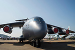 China's Xian Y-20 heavy military transport aircraft, by Aviation Industry Corporation of China, on display at the China International Aviation & Aerospace Exhibition (Airshow China 2016) at China International Aviation Exhibition Center on 02 November 2016, in Zhuhai, China. Photo by Marcio Machado / Power Sport Images