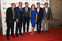 DIRECTOR PETER LANDESMAN, JOSH LUCAS, DIANE LANE AND TONY GOLDWYN WITH THE PRODUCERS - RED CARPET OF THE FILM 'MARK FELT - THE MAN WHO BROUGHT DOWN THE WHITE HOUSE' - 42ND TORONTO INTERNATIONAL FILM FESTIVAL 2017