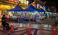 Nighttime Flea Market, Ipoh, Malaysia.