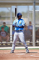 Tampa Bay Rays catcher Ronaldo Hernandez (50) during a Minor League Spring Training game against the Minnesota Twins on March 17, 2018 at CenturyLink Sports Complex in Fort Myers, Florida.  (Mike Janes/Four Seam Images)