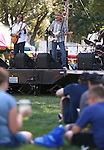 The Tom Petty Tribute Band performs at the NV150 Fair at Fuji Park, in Carson City, Nev., on Friday, Aug. 1, 2014.<br /> Photo by Cathleen Allison