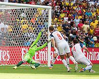 Rio de Janeiro, Brazil - June 22, 2014: Belgium defeated Russia 1-0 at during group play at Maracanã Stadium.