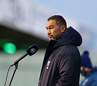 20th December 2020; The Sportsground, Galway, Connacht, Ireland; European Champions Cup Rugby, Connacht versus Bristol Bears; Bristol Bears head coach Pat Lam speaks with the media ahead of kick off in The Sportsgrounds