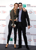 "L'attrice Grace Van Patten ed il regista Adam Leon posano durante un photocall per la presentazione del film ""Tramps"" al Festival Internazionale del Film di Roma, 16 ottobre 2016.<br /> Actress Grace Van Patten and Director Adam Leon pose for a photocall to present the movie ""Tramps"" during the international Rome Film Festival at Rome's Auditorium, 16 October 2016.<br /> UPDATE IMAGES PRESS/Isabella Bonotto"