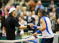 21-2-08, Netherlands, Rotterdam ABNAMROWTT 2008, Rafael Nadal  Andreas Seppi