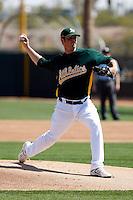 Vin Mazzaro - Oakland Athletics - 2009 spring training.Photo by:  Bill Mitchell/Four Seam Images