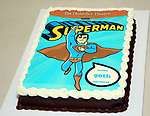 Charles Strouse Birthday Cake during the Children's Theatre of Cincinnati presentation for composer Charles Strouse of 'Superman The Musical' at Ripley Grier Studios on June 8, 2018 in New York City.
