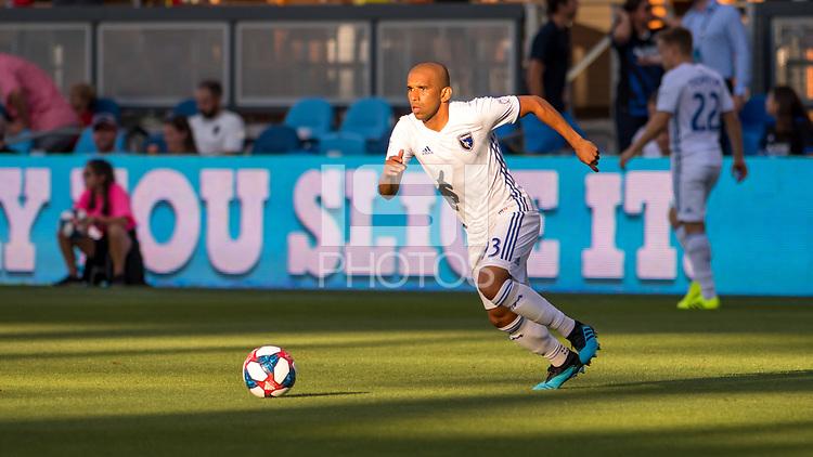 SAN JOSÉ CA - JULY 27: Judson #93 during a Major League Soccer (MLS) match between the San Jose Earthquakes and the Colorado Rapids on July 27, 2019 at Avaya Stadium in San José, California.