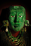 Maya, Palenque, Ancient Cultures, The Americas, Archaeology, Mexico, Meso America, Pakal, Death Mask, INAH, National Museum of Anthropology and History